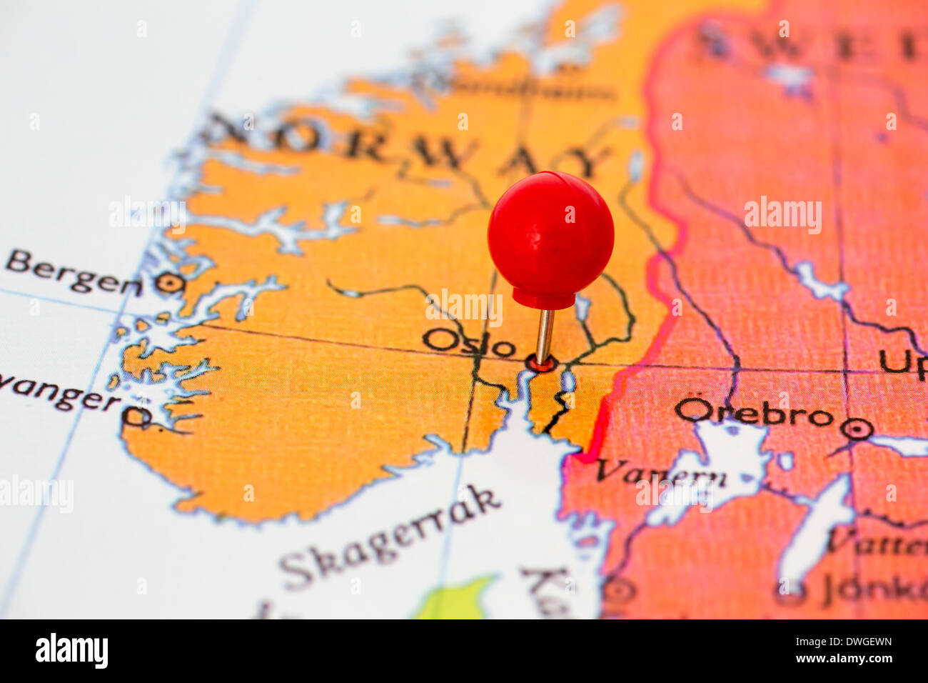Norway On Map Of Europe.Oslo Map Europe Norway Stock Photos Oslo Map Europe Norway Stock
