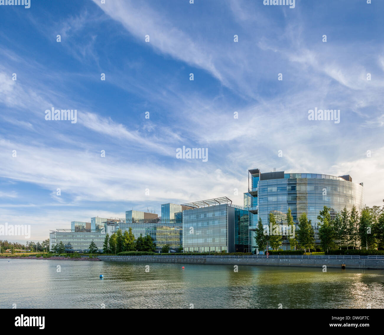 Nokia head office - Stock Image
