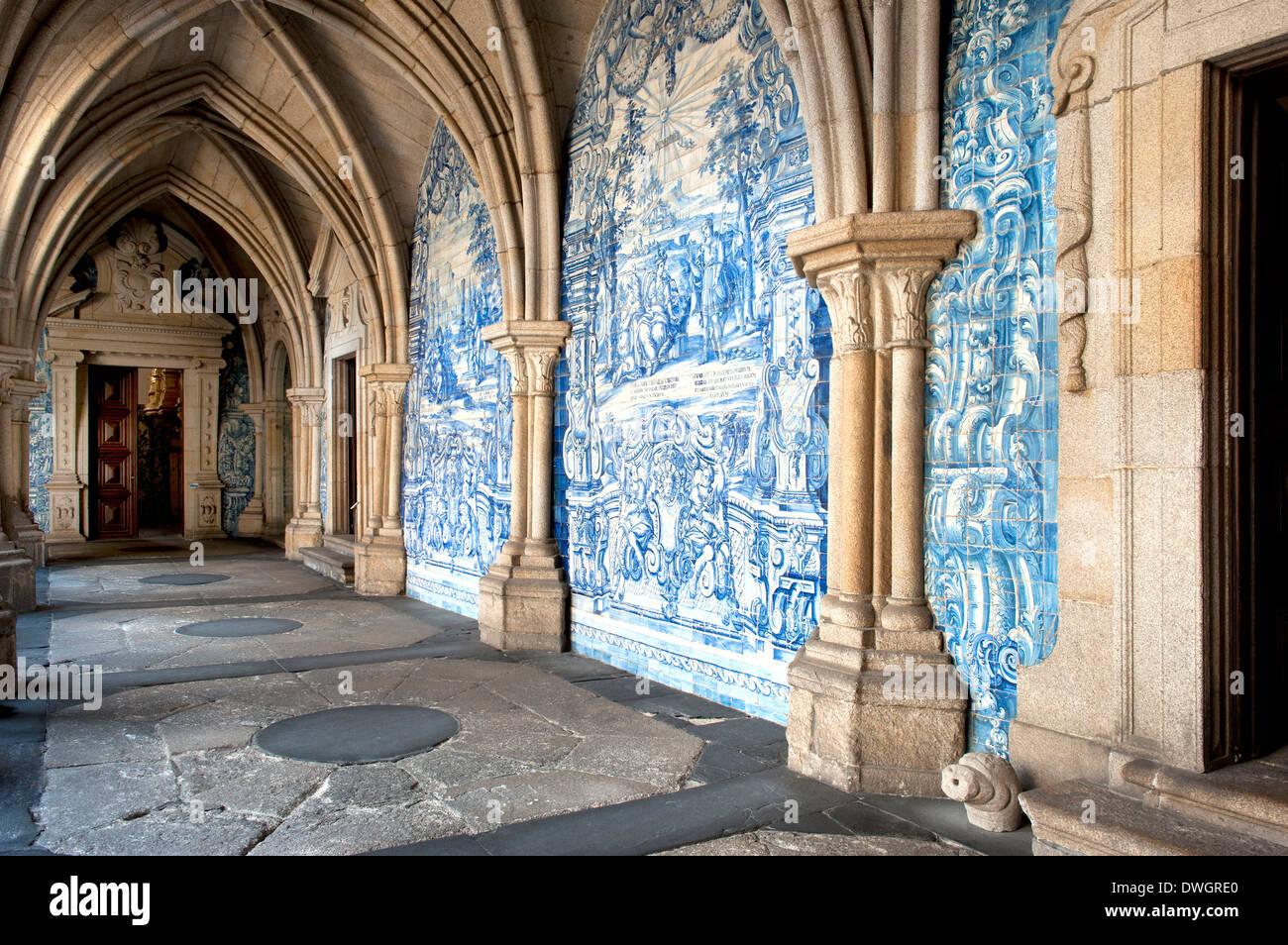 Da Se Cathedral, Porto Stock Photo