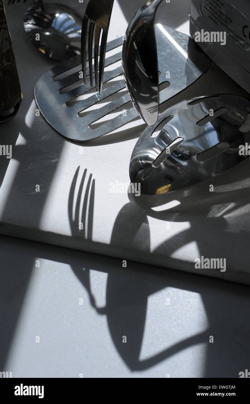 cutlery,knives and forks,arranging, art, background, black, cafe, clip, clip-art, clipart, cooking, cool, cutlery, decoration, d - Stock Image