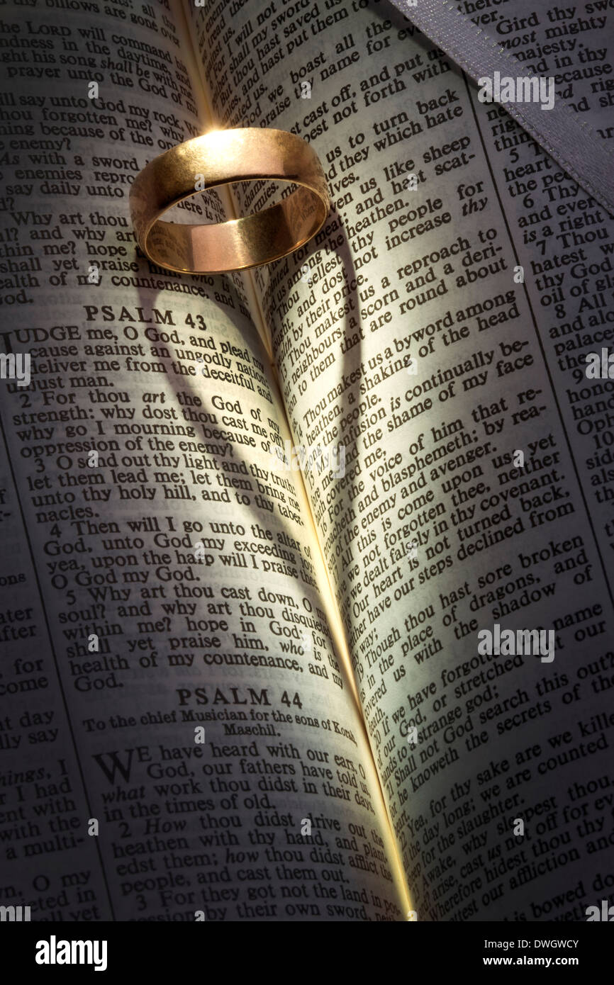 photo the rings on scripture mirumisiura stock wedding bible depositphotos