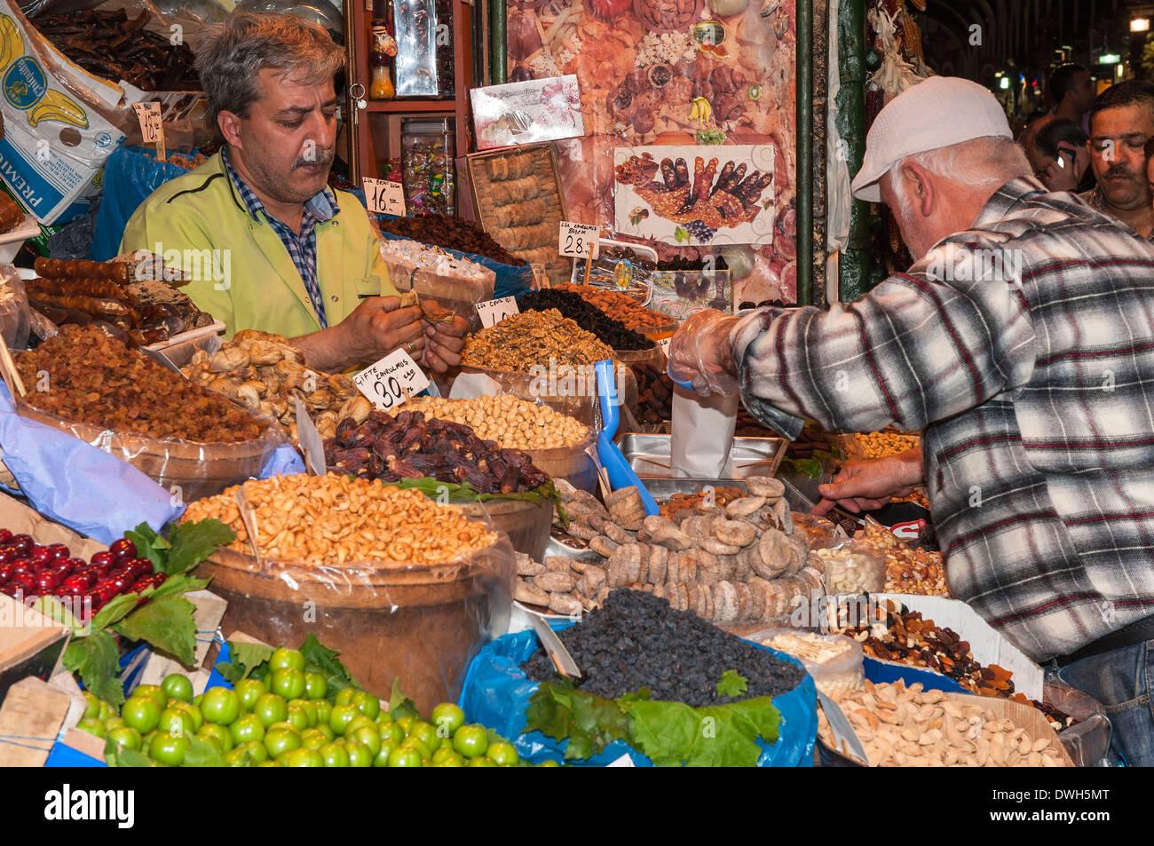 Egyptian Bazaar, Istanbul - Stock Image
