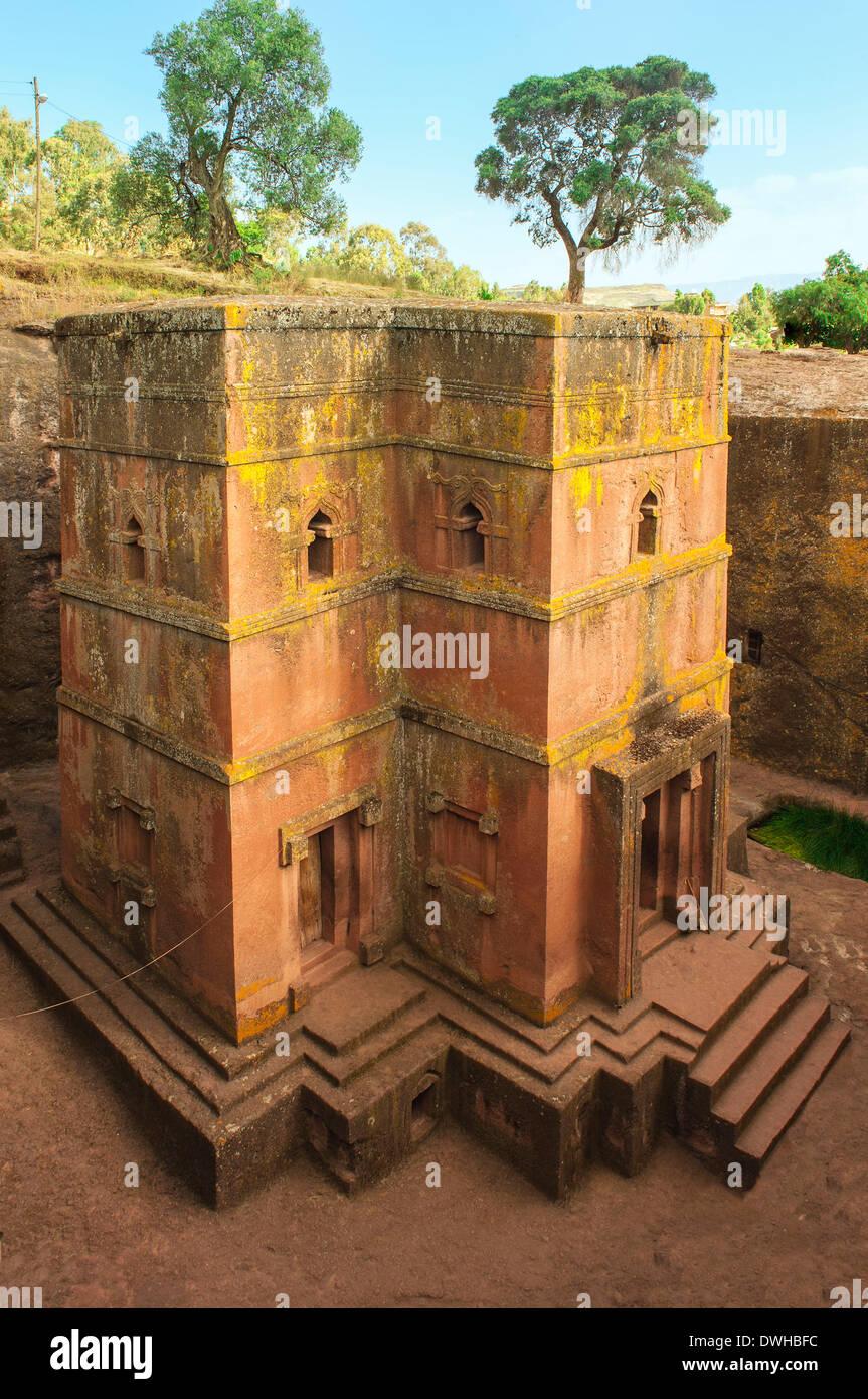 Church Bet Giyorgis, Lalibela - Stock Image