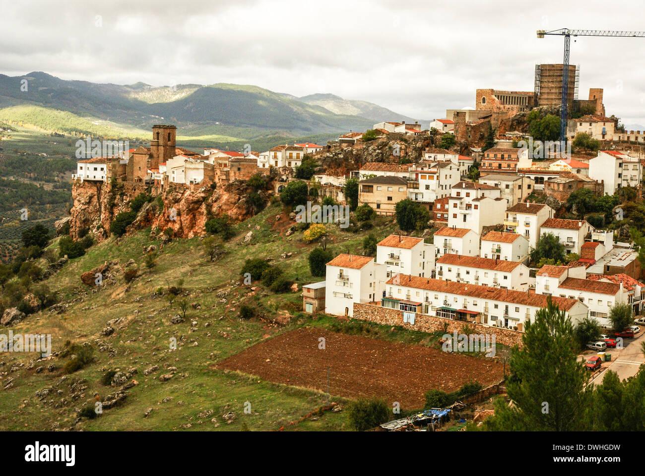 Hornos, Jaen, Andalucia, Spain - Stock Image