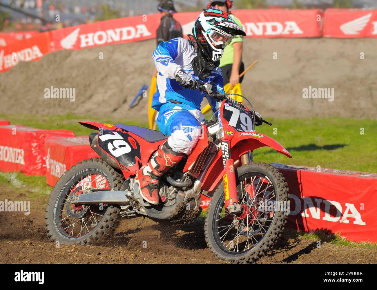 Honda 250 Stock Photos Images Alamy 2014 250cc Dirt Bike 08th Mar Ryan Zimmer 79
