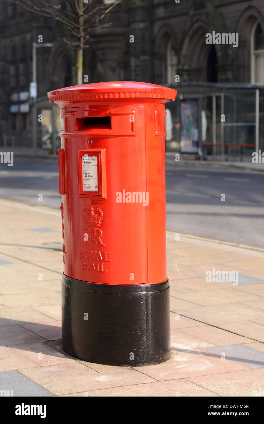Royal Mail Postbox - Stock Image