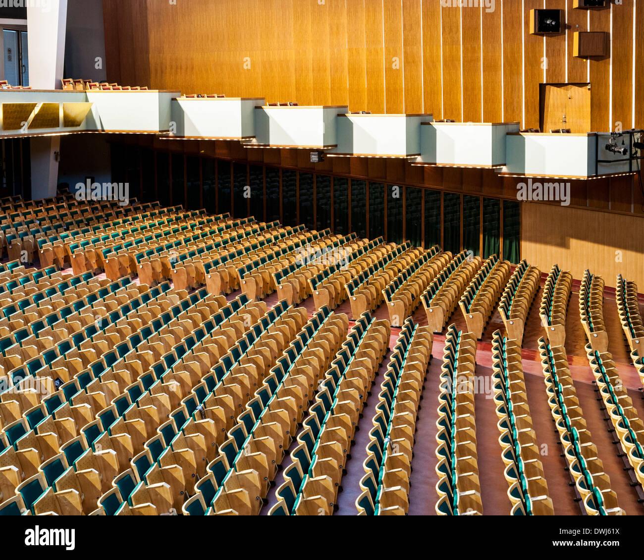 Tivoli Gardens, Copenhagen, Denmark. Architect: Various, 2014. Tivoli Koncertsal (Concert Hall). Stock Photo