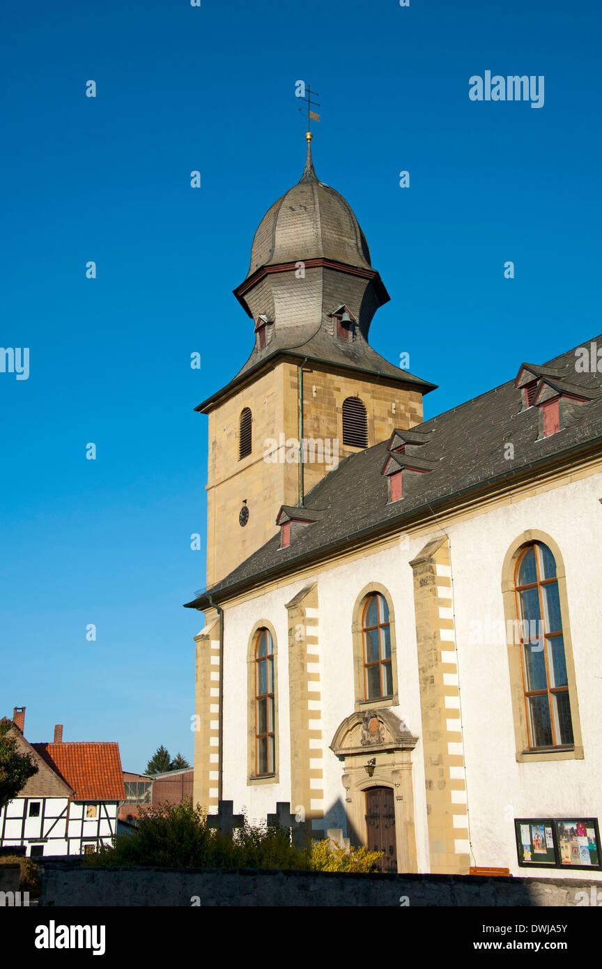St Cosmas and Damian, Bad Salzdetfurth - Stock Image