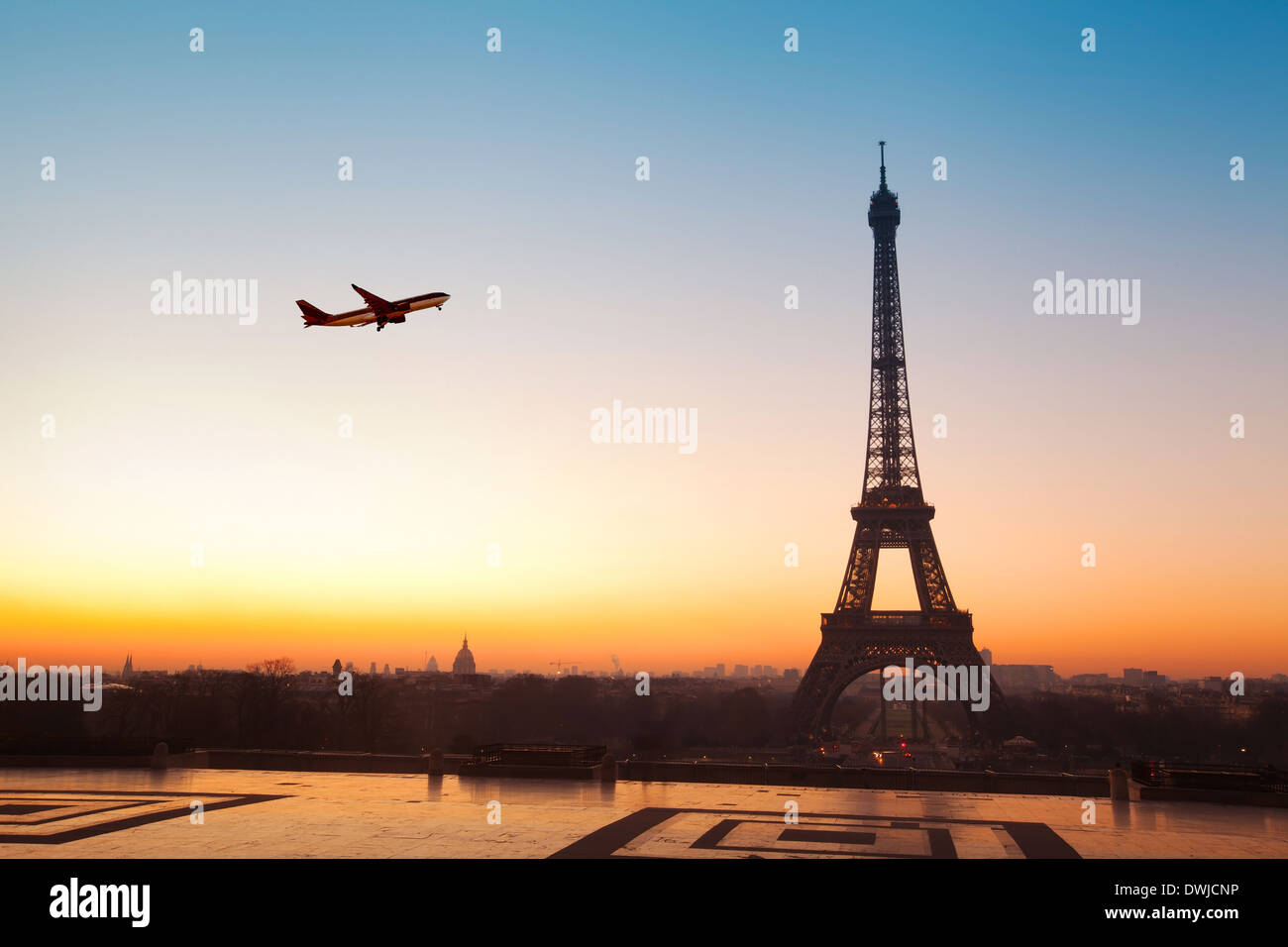 travel to Paris - Stock Image