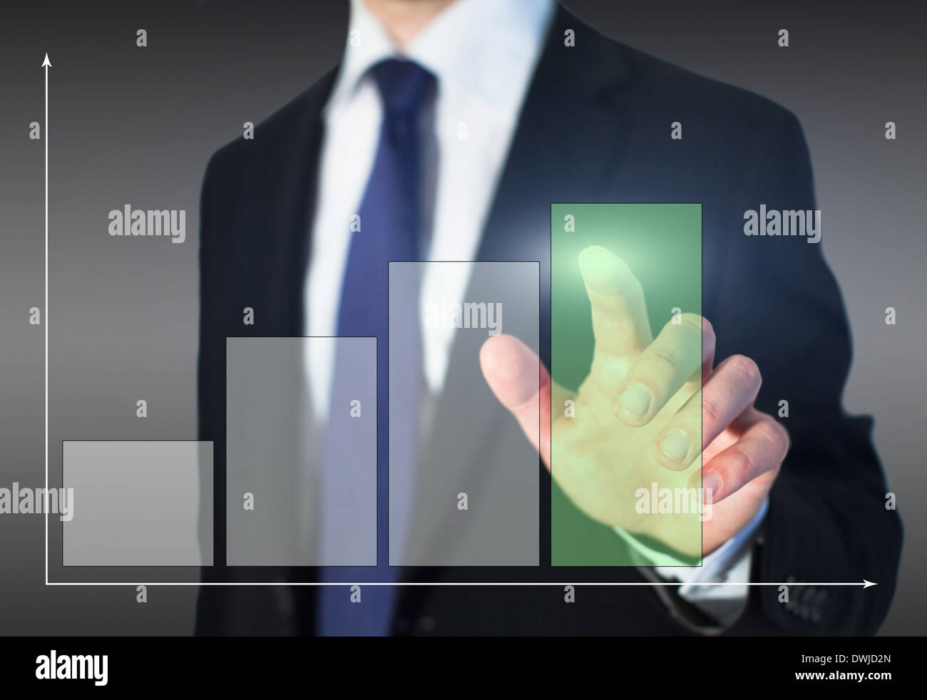 growth business - Stock Image