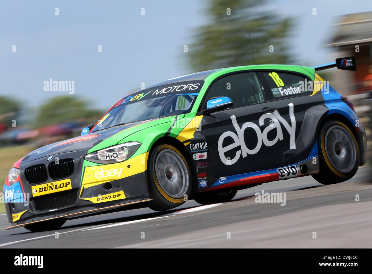 Nick Foster (GBR) eBay Motors BMW 125i M Sport Stock Photo: 67403964 ...