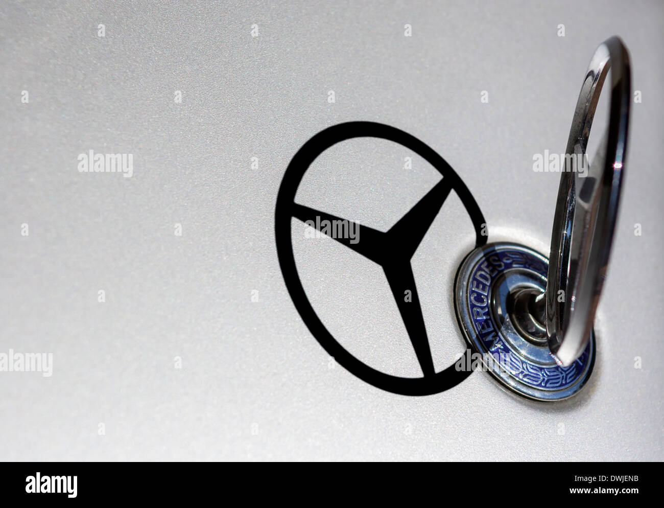 Mercedes Star Emblem Stock Photos & Mercedes Star Emblem