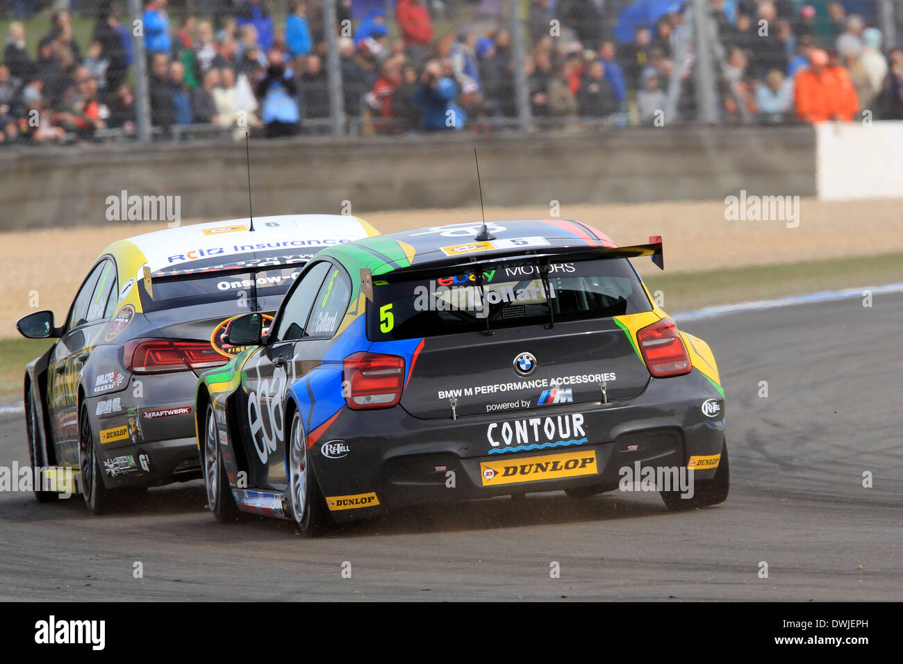 Rob Collard (GBR) eBay Motors BMW 125i M Sport Stock Photo: 67404249 ...