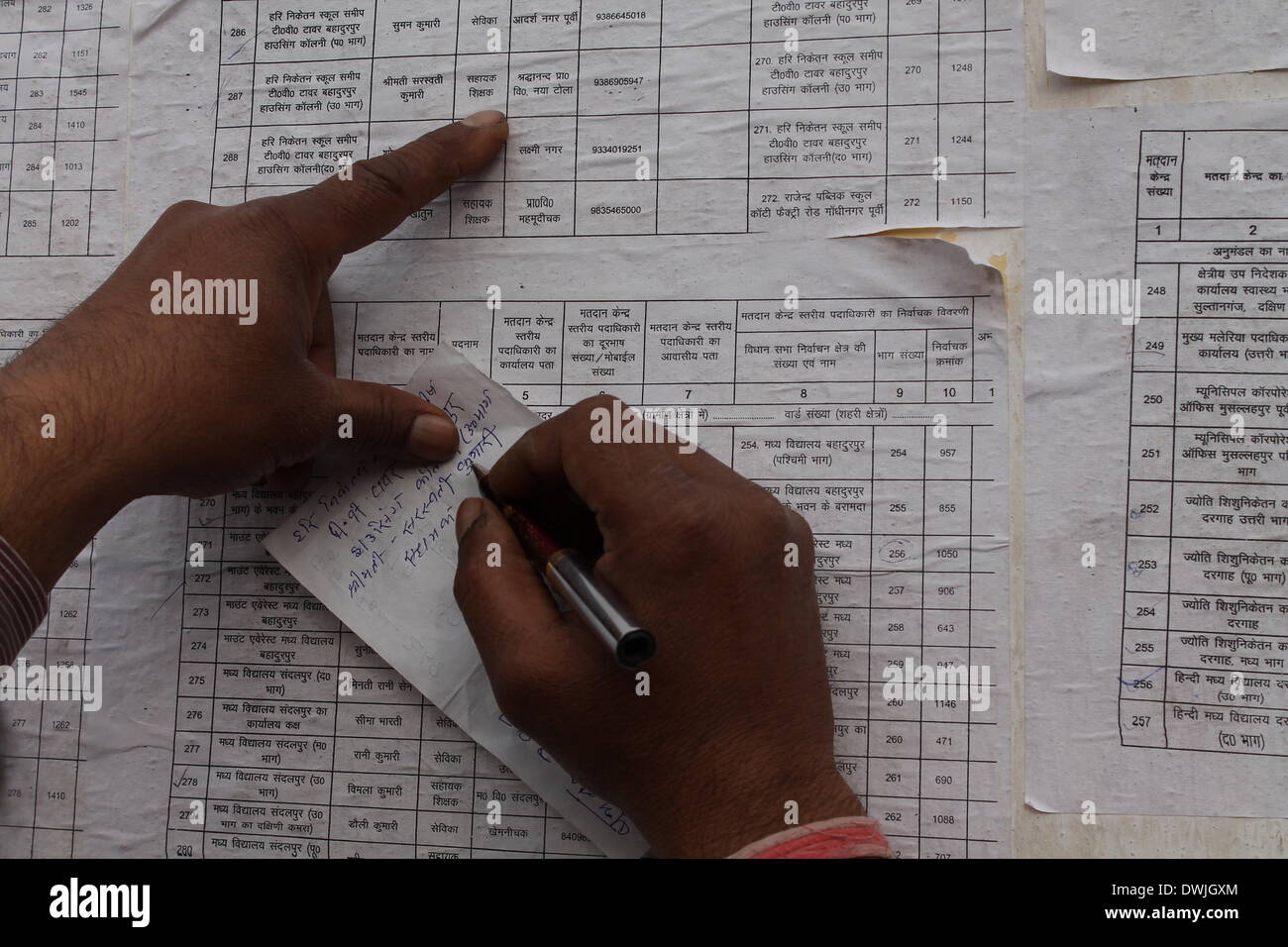 Bankipore Ghat, Patna, Bihar, India, 10th March 2014  Monday Stock