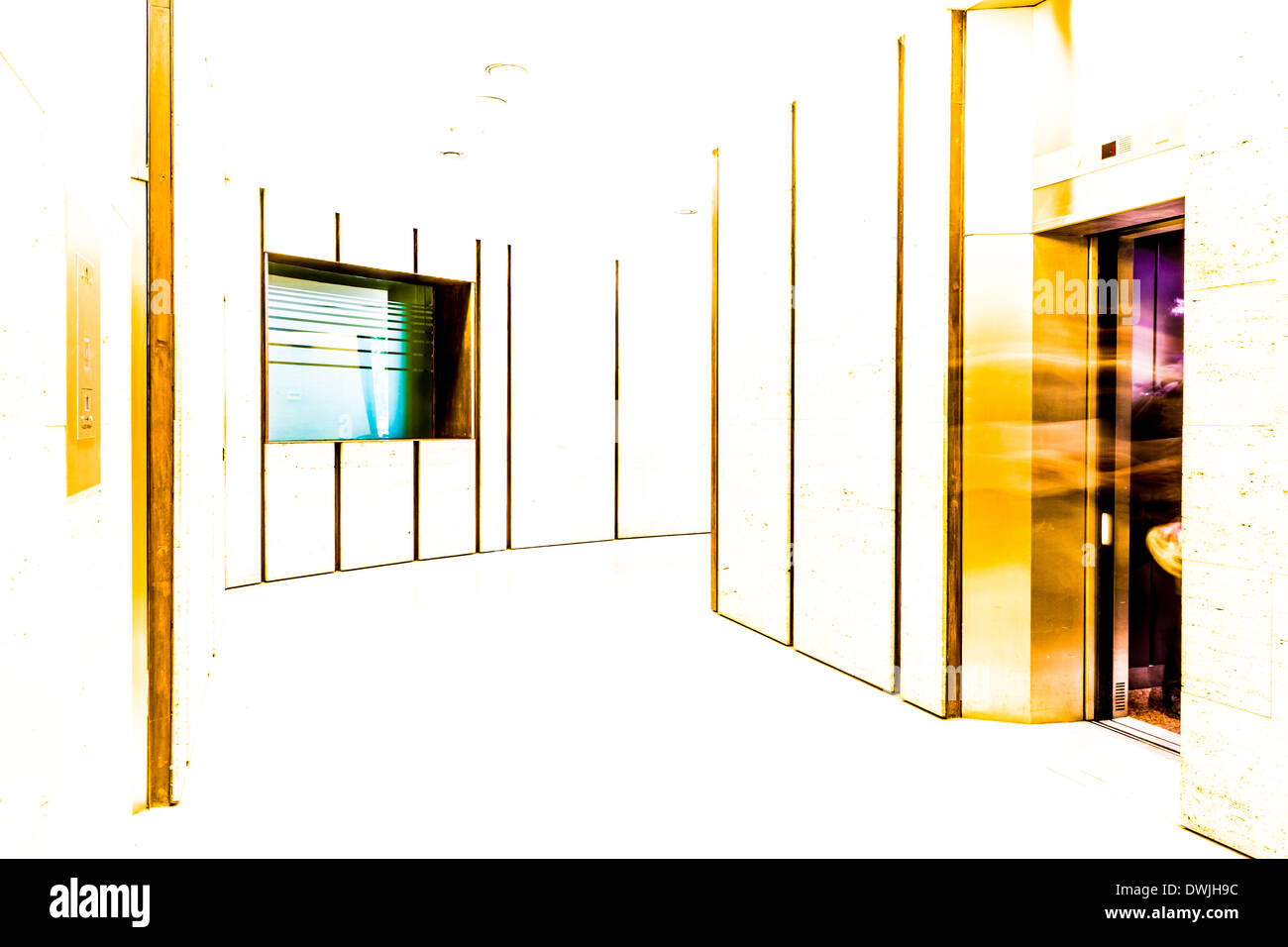 'Quantum Light Through Einstein' - Stock Image