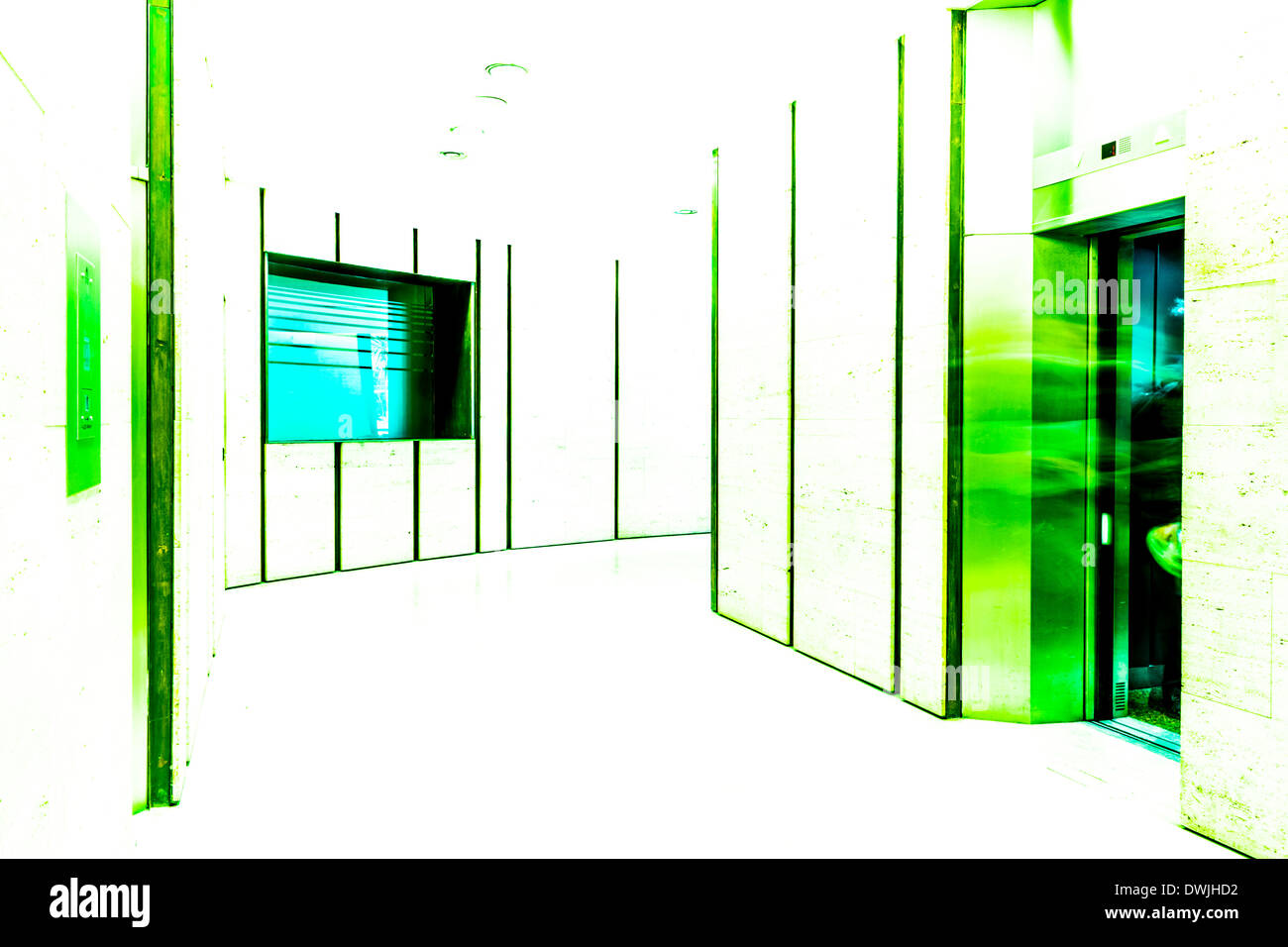 'Quantum Light Through Schrödinger' - Stock Image