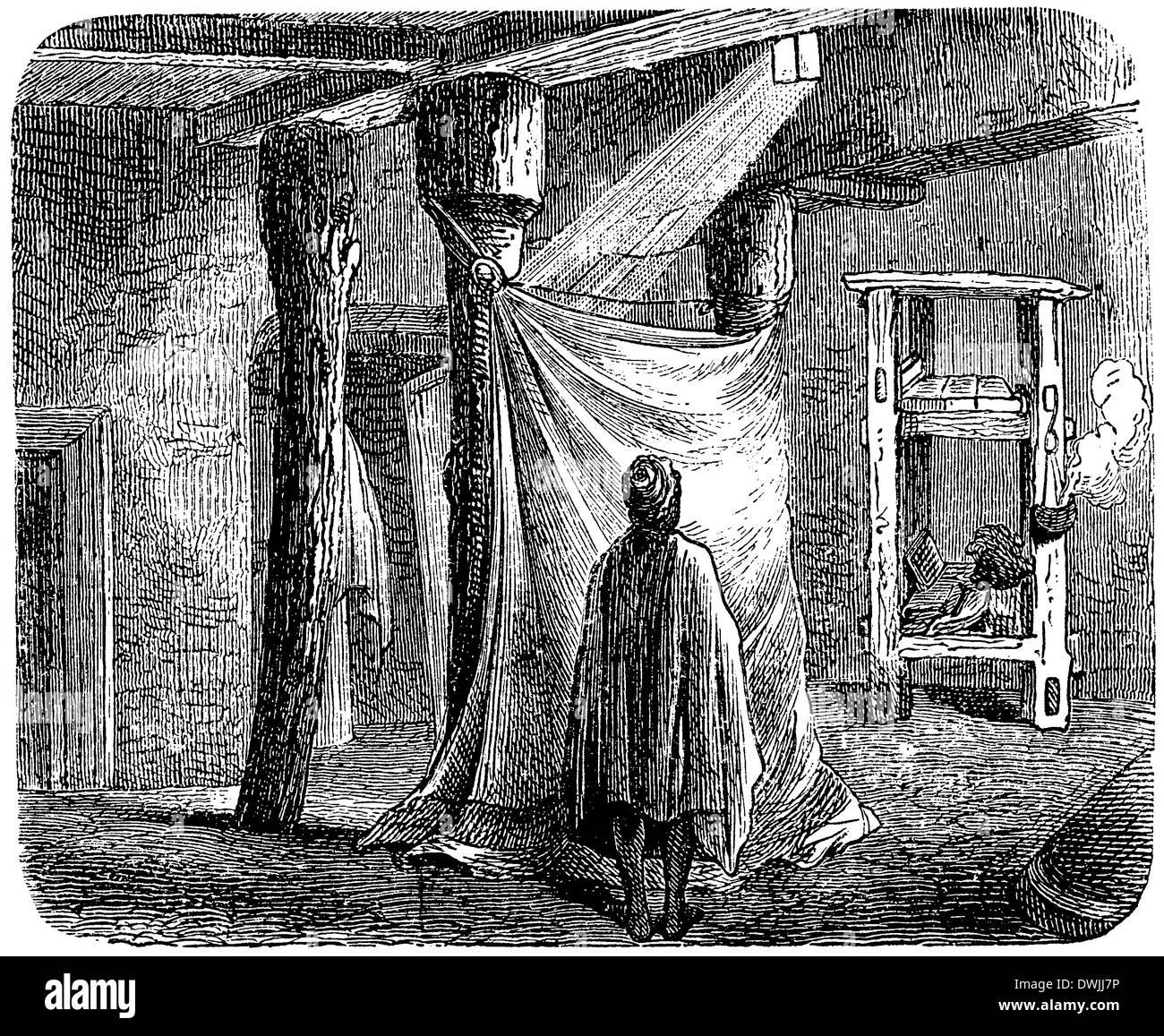 Abessinische Kirche: Innenansicht - Stock Image