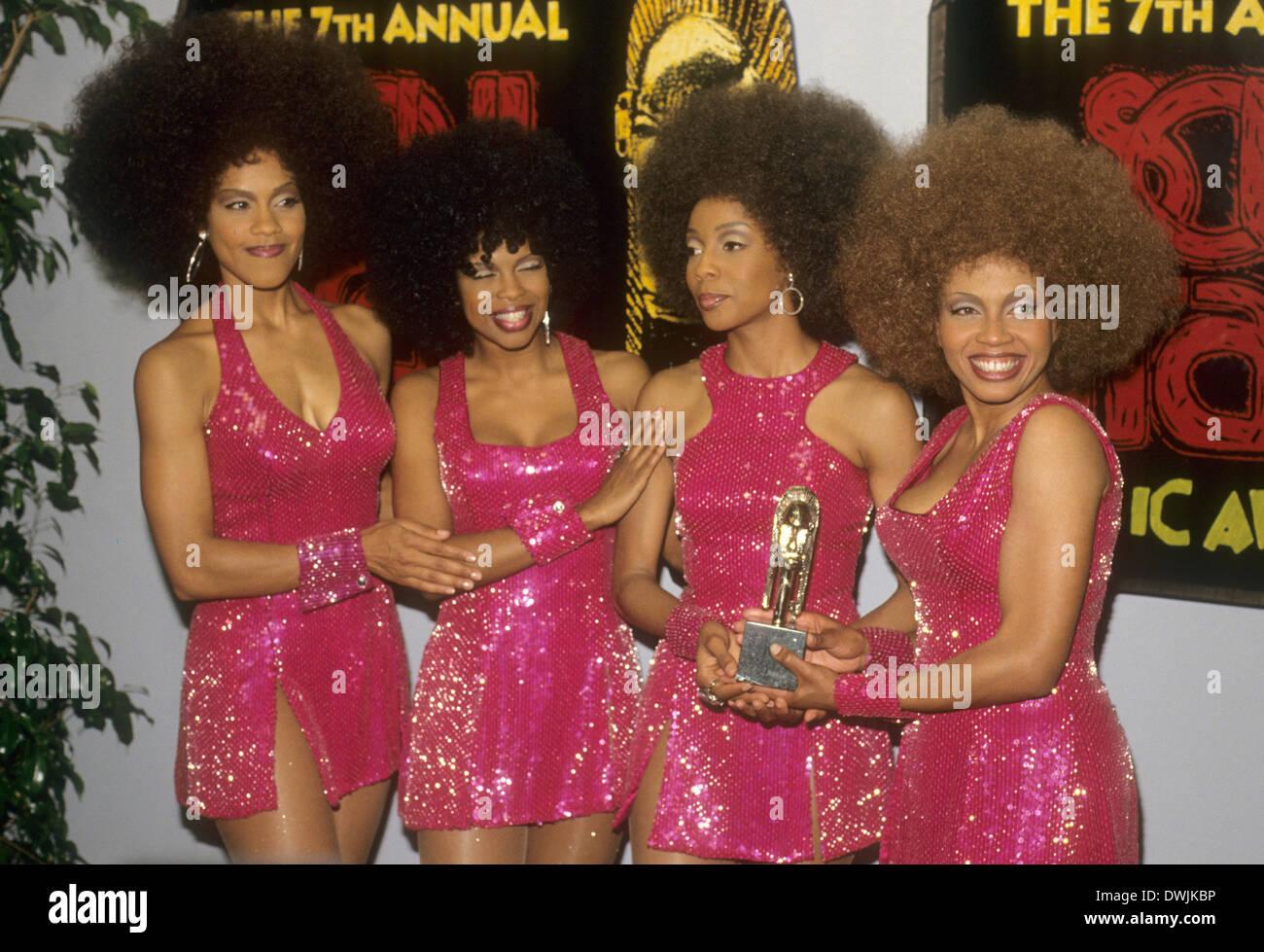 EN VOGUE  American R&B group in 1992. Photo Jeffrey Mayer - Stock Image