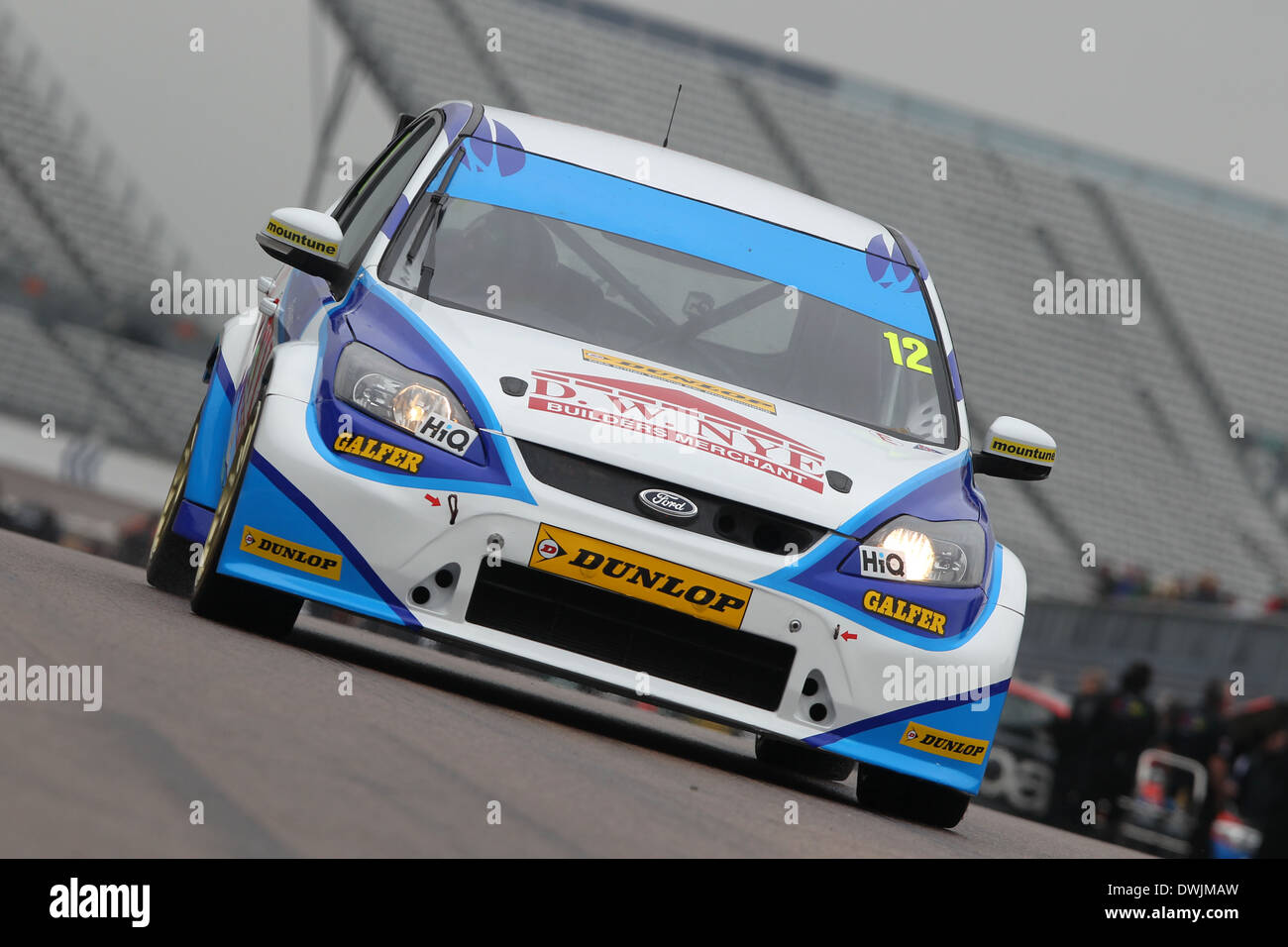 David Nye Gbr Welch Motorsport Ford Focus Stock Image