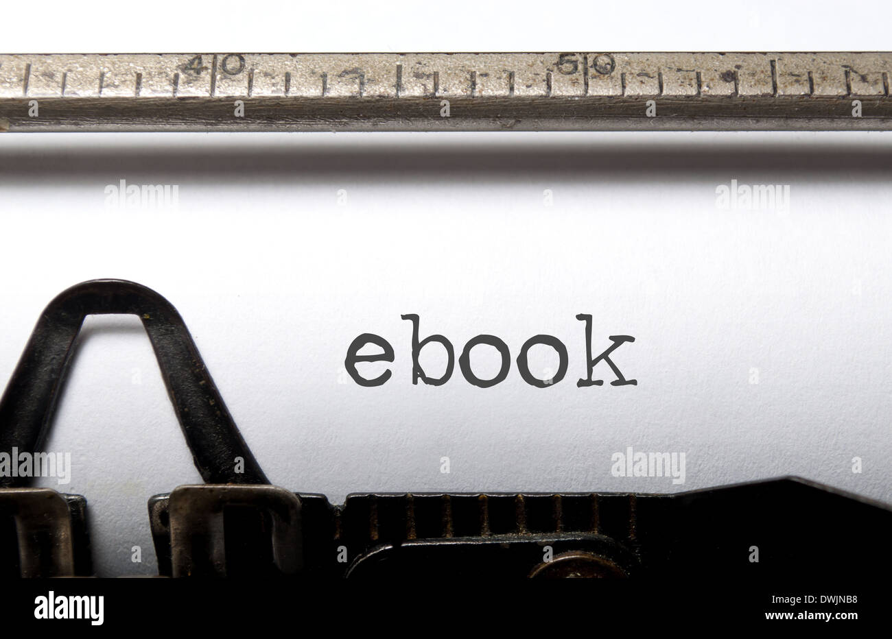 Ebook - Stock Image