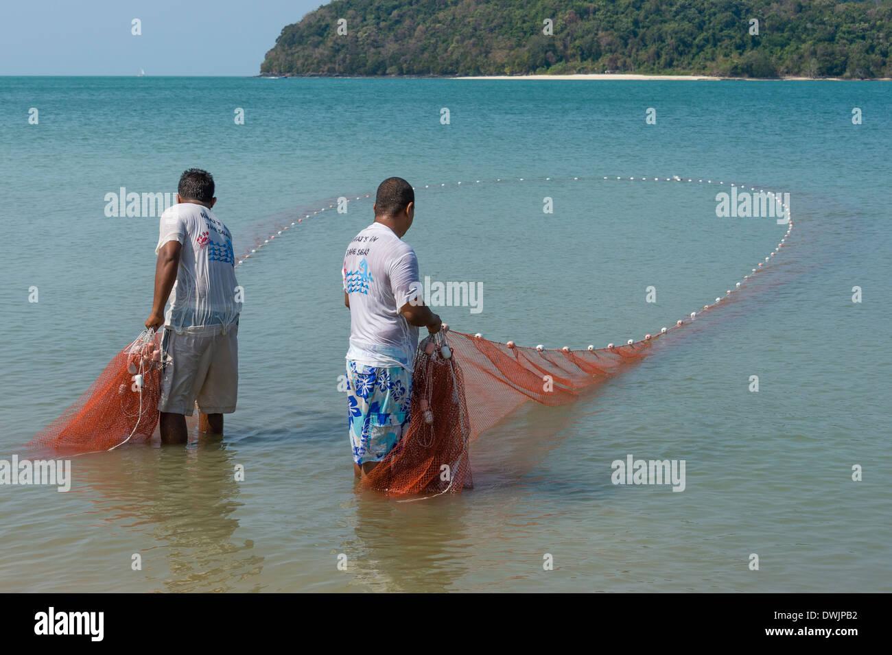 Fishermen on Langkawi - Stock Image