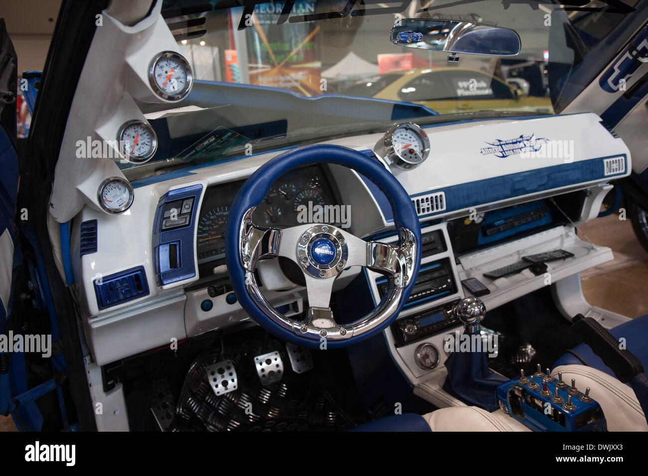 Custom Car Interior Stock Photos & Custom Car Interior Stock ...