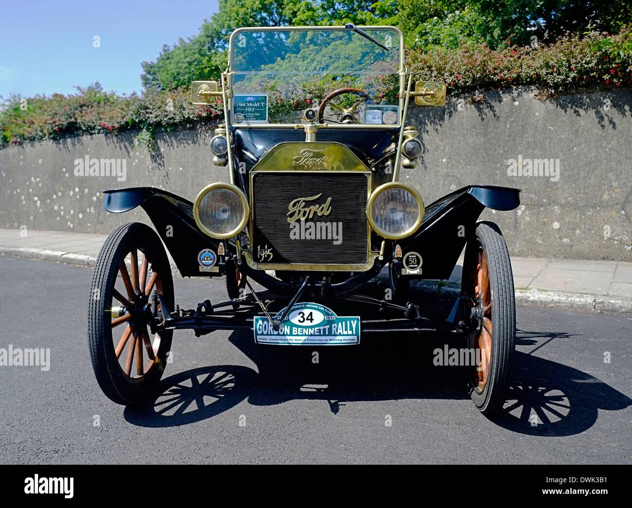 Model T Ford Motorcar 1915 - Stock Image