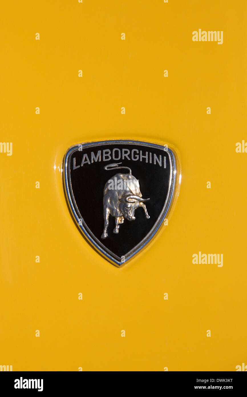 Lamborghini Emblem Stock Photos Lamborghini Emblem Stock Images
