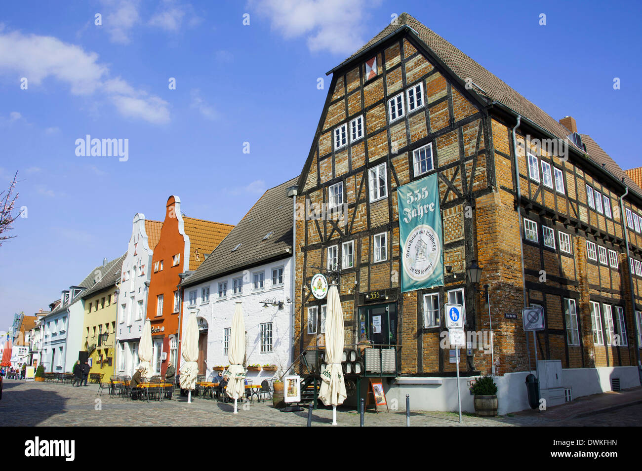 Brewhouse, Wismar - Stock Image