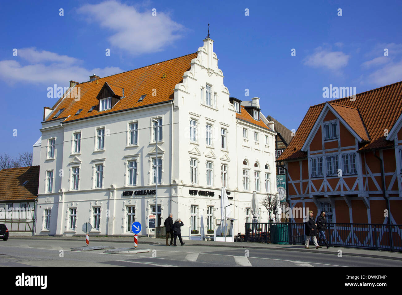 Hotel New Orleans, Wismar - Stock Image