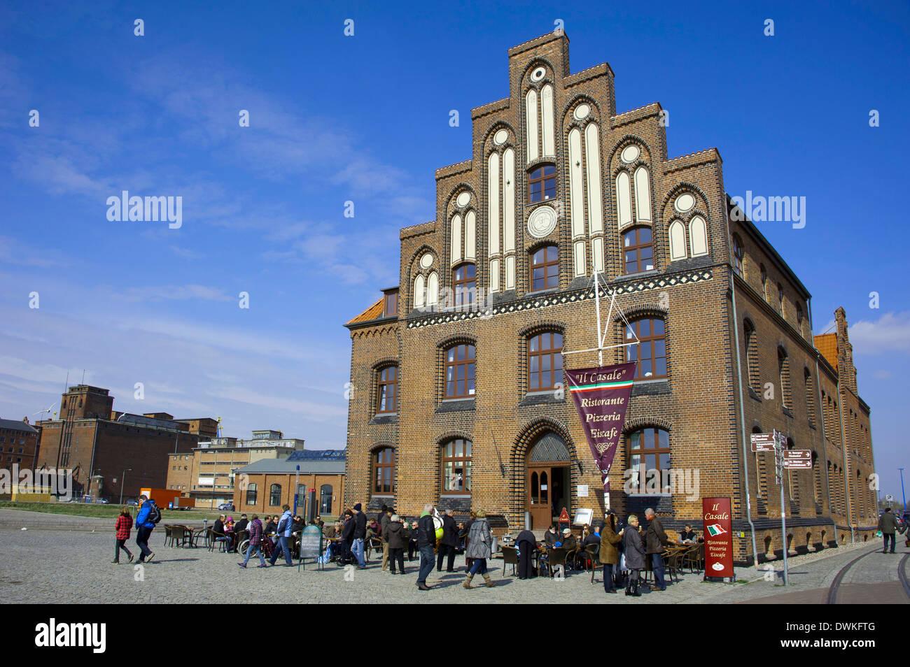 Custom house, Wismar - Stock Image