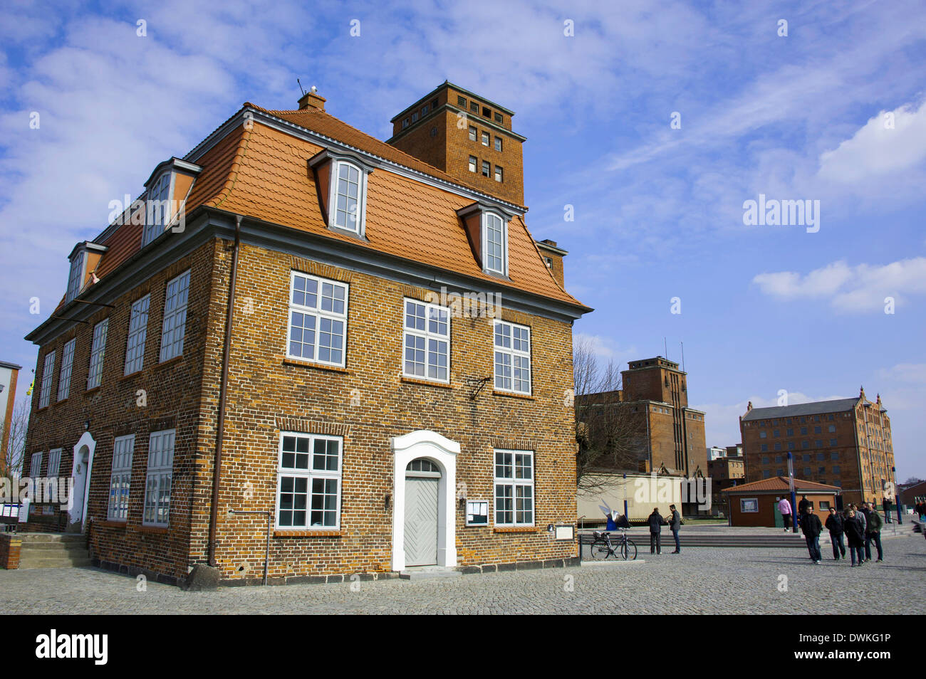 Tree house, Wismar - Stock Image