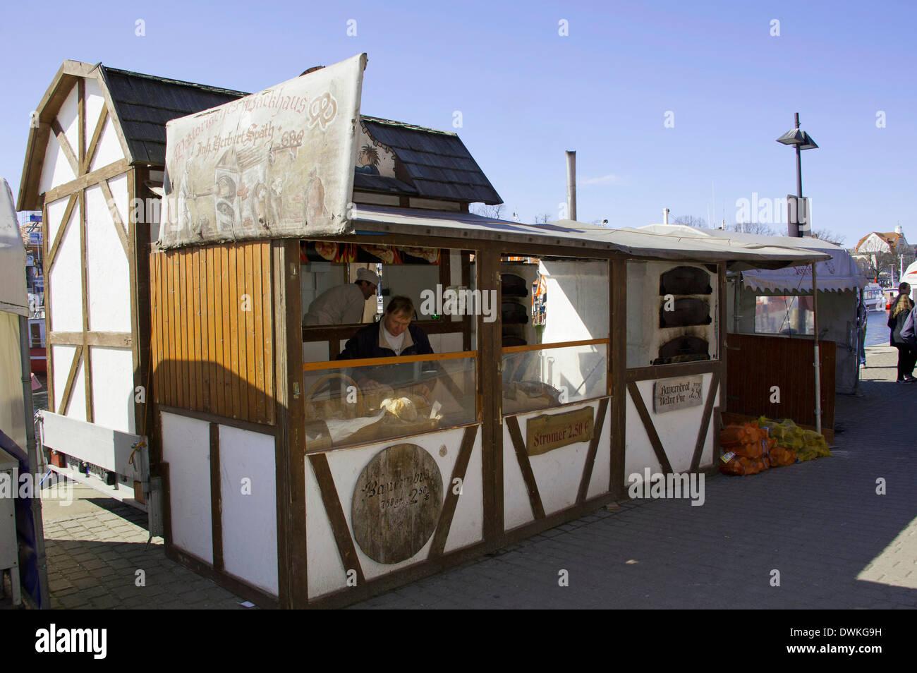 Bakehouse, Warnemunde - Stock Image
