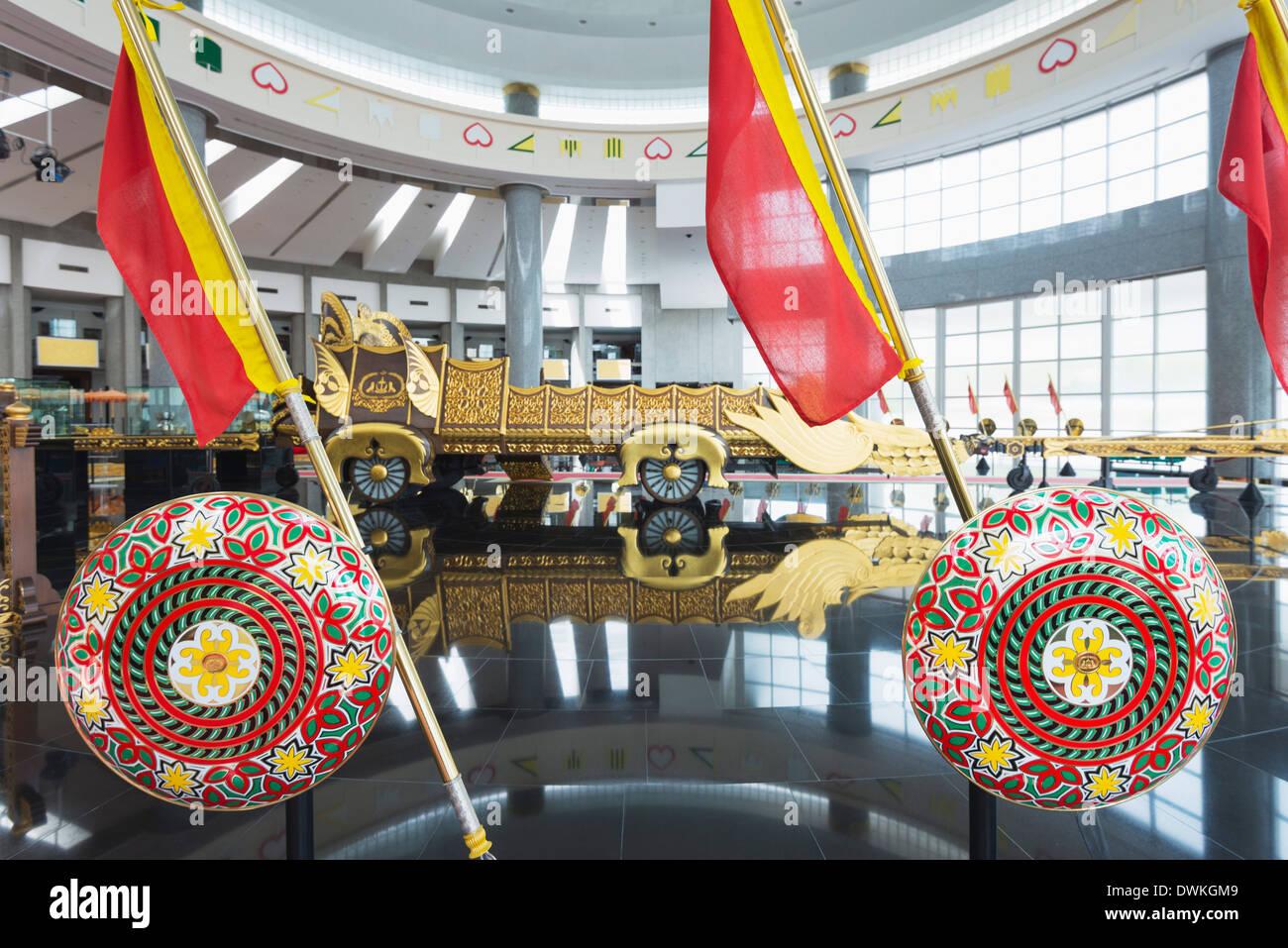 Royal Regalia Museum, Bandar Seri Begawan, Brunei, Borneo, Southeast Asia, Asia - Stock Image