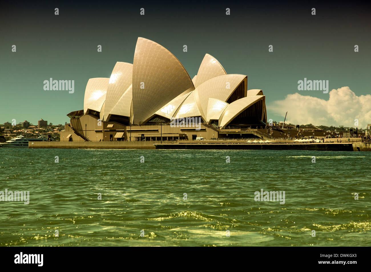 Opera House in Sydney - Stock Image