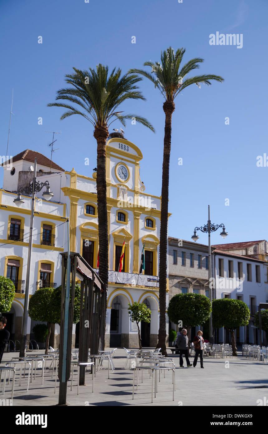 Merida, Badajoz, Extremadura, Spain, Europe Stock Photo