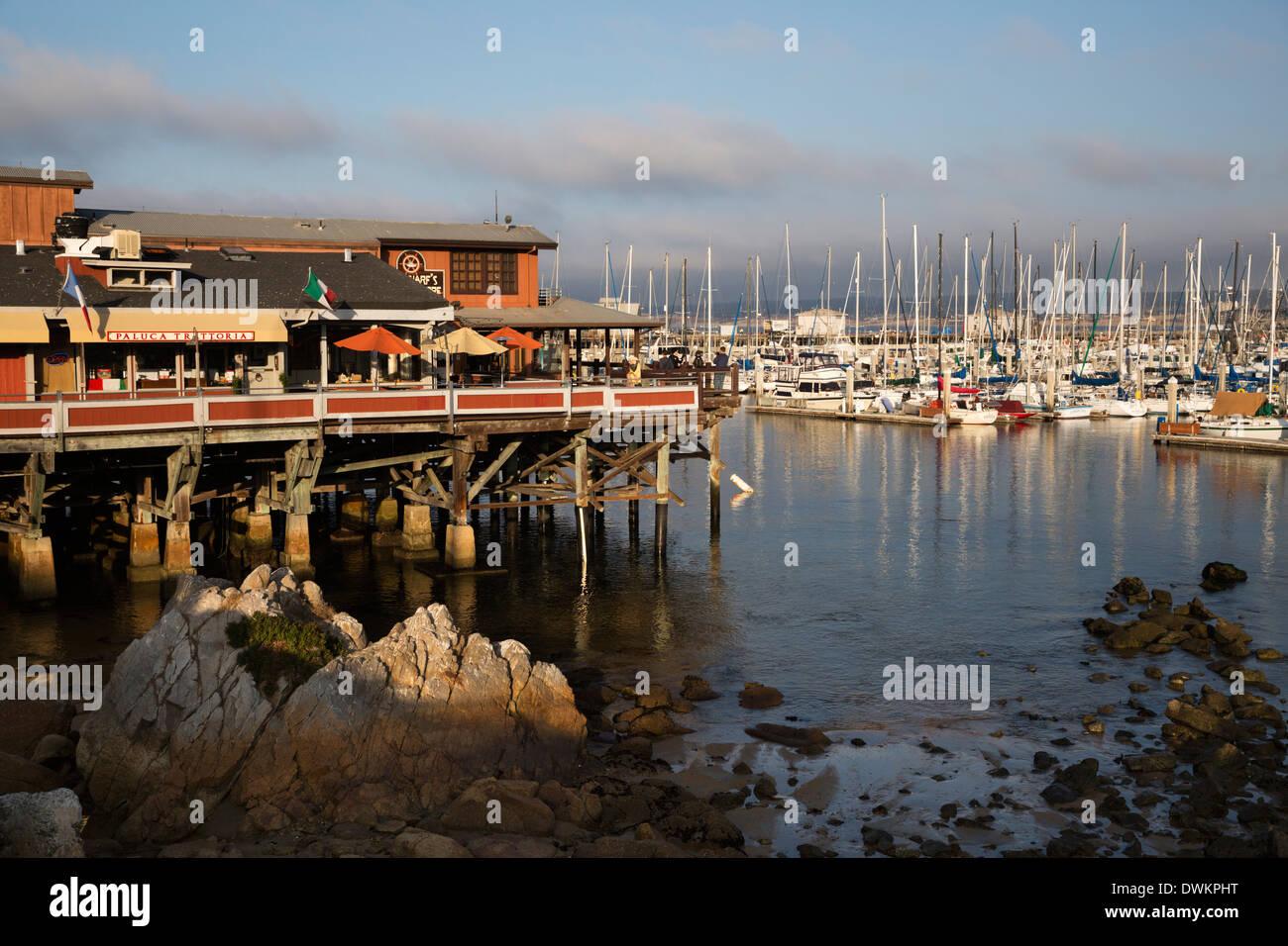 Monterey Docks And Fisherman S Wharf Restaurants Monterey