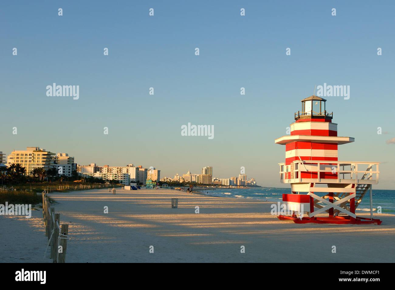 South Beach, Miami, Florida, United States of America, North America - Stock Image