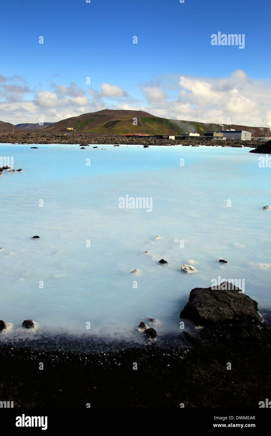 Blaue Lagune, Island, Europa - Stock Image