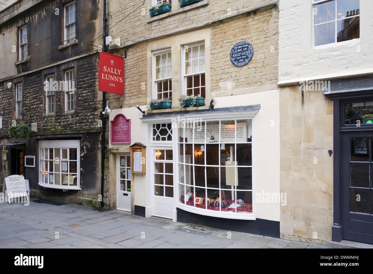 Sally Lunns tea room, Bath, England Stock Photo