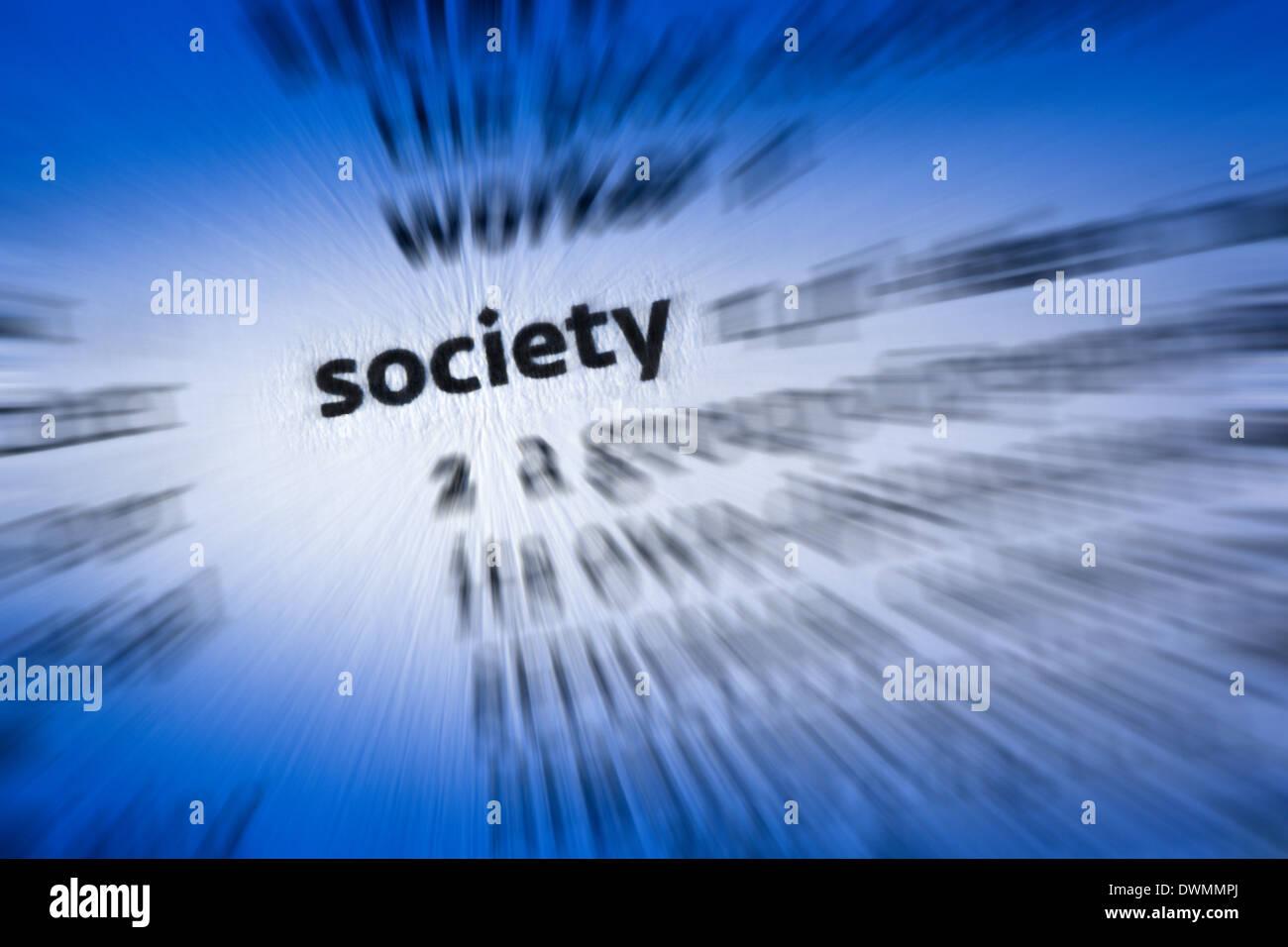 Society - Stock Image