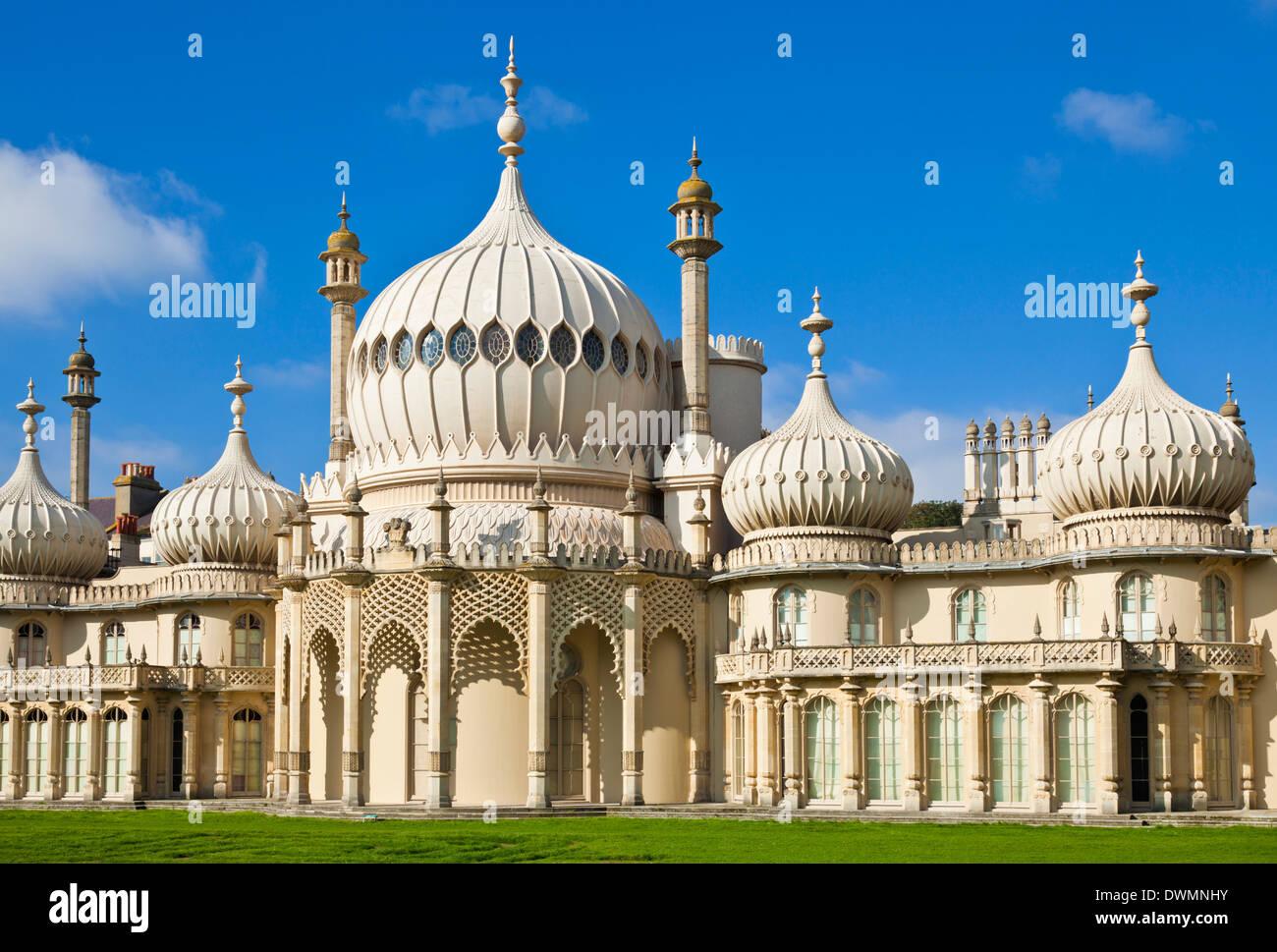 Brighton Royal Pavilion, Brighton, East Sussex, England, United Kingdom, Europe - Stock Image