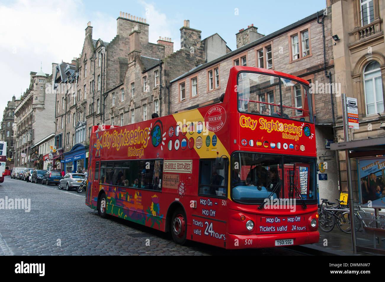 Royal Mile, Edinburgh - Stock Image
