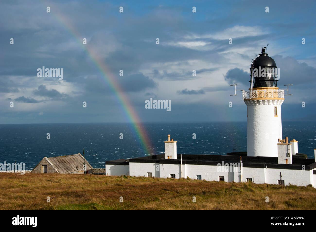 Lighthouse, Dunnet Head - Stock Image