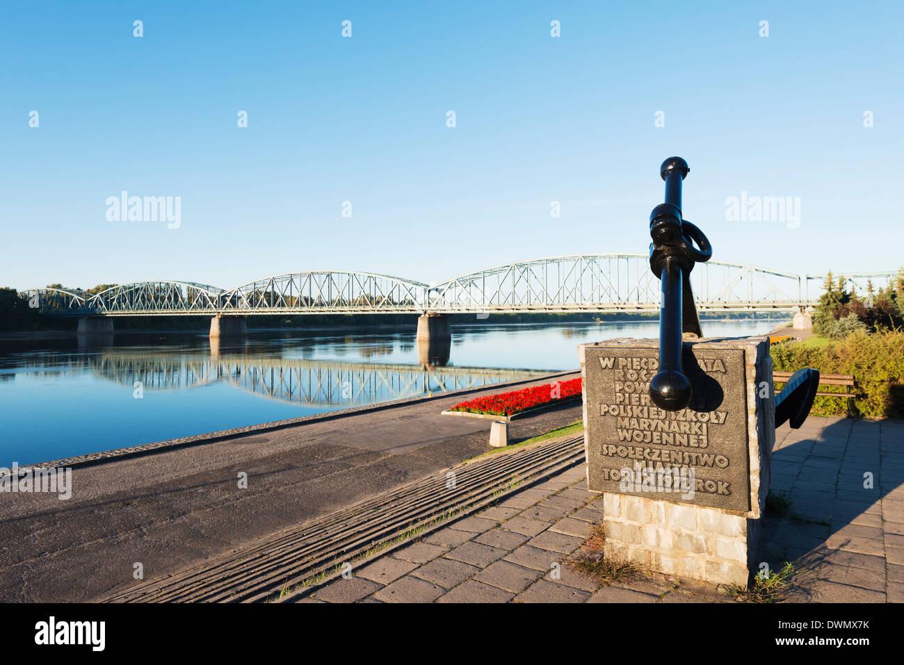 Vistula River, Torun, Gdansk and Pomerania, Poland, Europe - Stock Image