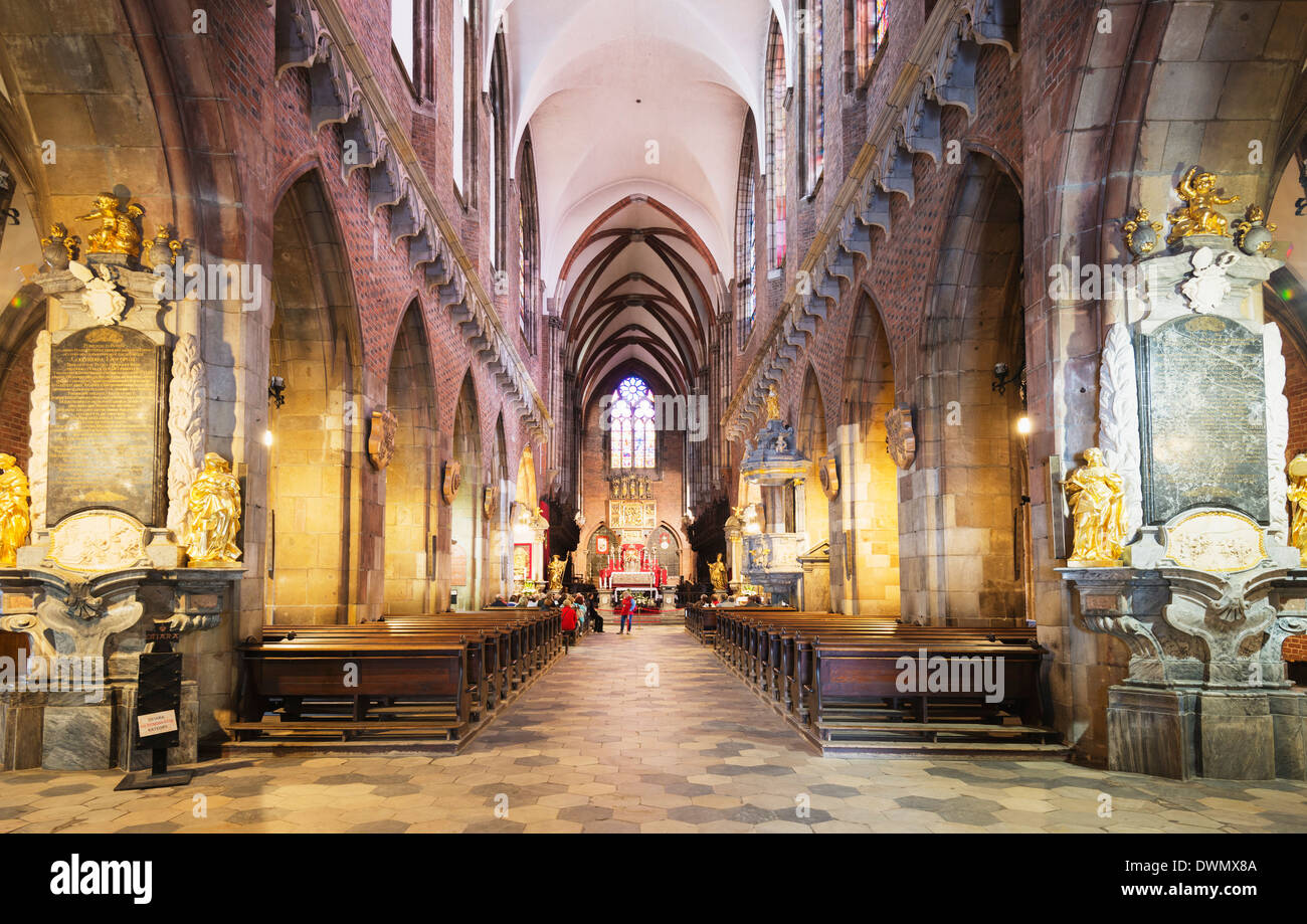 Cathedral of St. John the Baptist, Wroclaw, Silesia, Poland, Europe - Stock Image