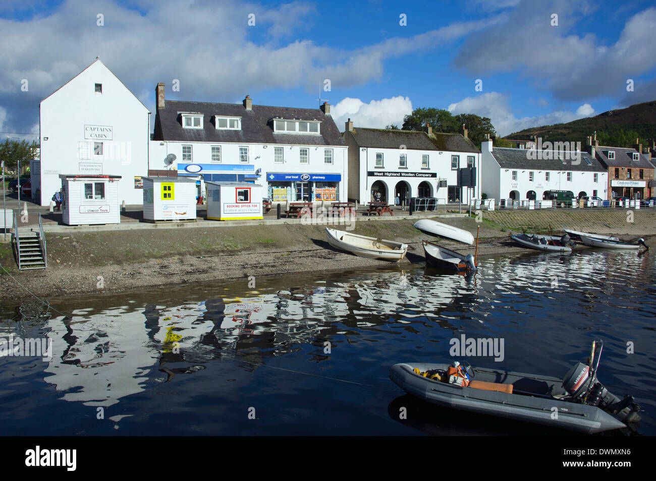 Harbour, Ullapool - Stock Image