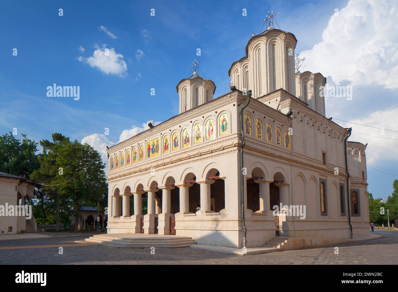 Patriarchal Cathedral, Bucharest, Romania, Europe - Stock Image