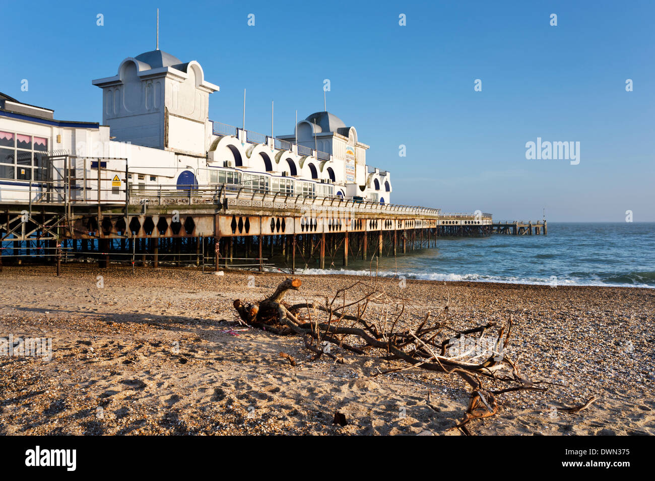 South Parade Pier, Southsea, Hampshire, UK - Stock Image