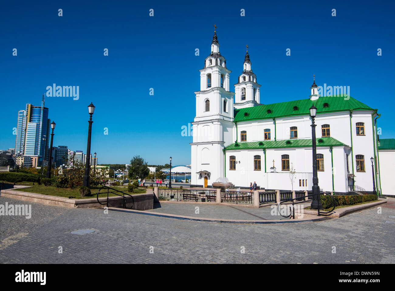 Minsk, Belarus, Europe - Stock Image